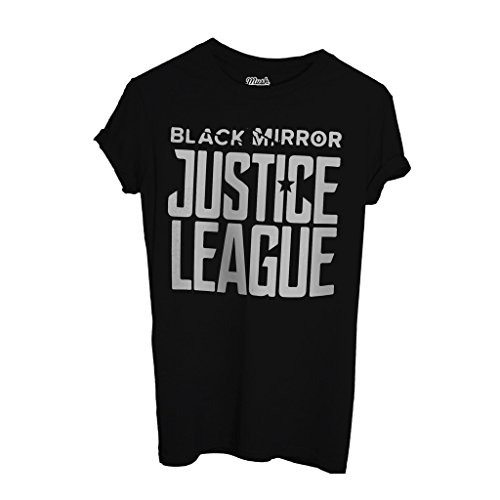 T-Shirt Black Mirror Justice League - FILM by Mush Dress Your Style