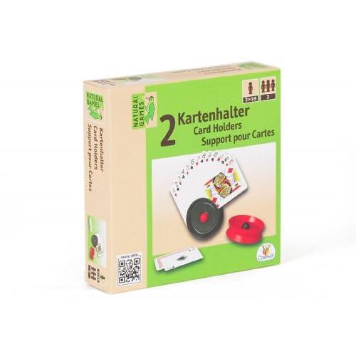 VEDES Großhandel GmbH - Ware Natural games Porte-cartes Lot de 2