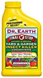Dr Earth 1022 24 Oz Final Stop Yard & Garden Insect Killer Concentrate