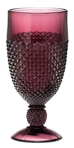 Goblet - Addison Pattern Mosser Glass USA (Amethyst)