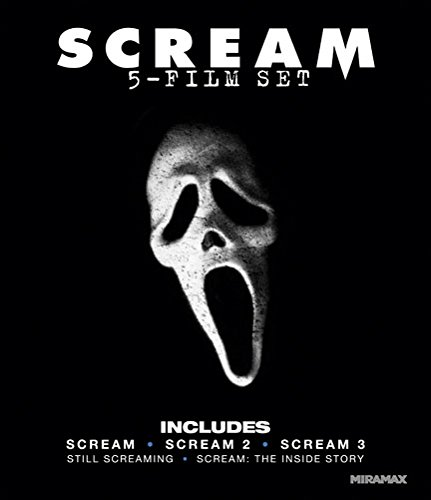 Scream: Five-Film Set (Scream / Scream 2 / Scream 3 / Still Screaming: The Ultimate Scary Movie Retrospective / Scream: The Inside Story) [Blu-ray]