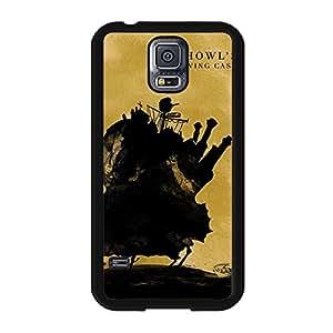 Miyazaki Series Amine Vintage Custom Howl'S Moving Castle Cover Case for Samsung Galaxy S5 I9600
