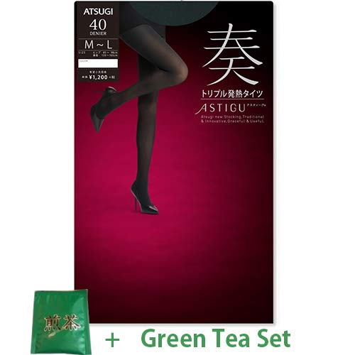 0ace13f05d6 Atsugi Astigu Tights Kanaderu Triple Heat Hot Tights 40 Denier Size M - L -  357