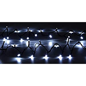 Christmas Concepts® 300 LED Chasing Lights – Indoor/Outdoor – 8 Function Control Box (White)