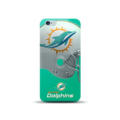 MIZCO SPORTS NFL-HL6-DLPH iPhone 6/6S Helmet Case for NFL Miami Dolphins