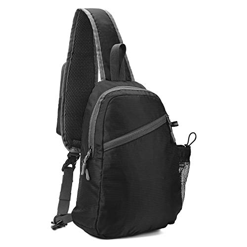 USHAKE Chest Sling Bag Shoulder Backpacks Bags Crossbody Backpack for Travel Hiking Daypack