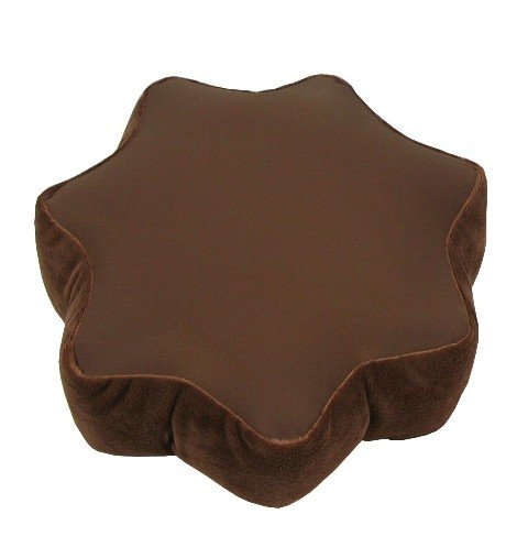 Mini-cojín sol color: chocolate: Amazon.es: Hogar