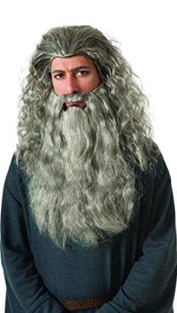 Beard Gandalf Costumes Kit (Gandalf Wig and Beard Kit Costume)