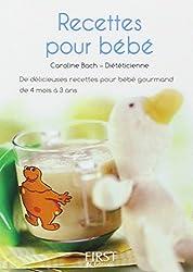 Petit livre des recettes santé pour bébé