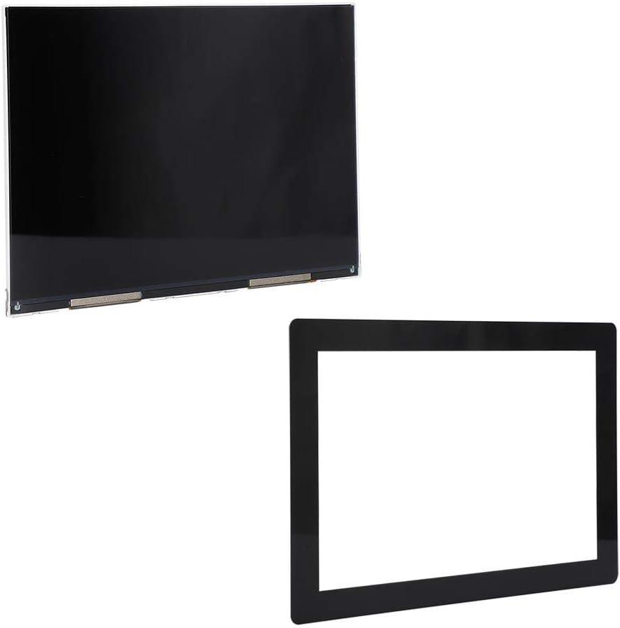 Pellicola protettiva per stampante 3D temperata da 8,9 pollici Schermo LCD Trasparente temperato professionale Pellicola antideflagrante e antigraffio Adatto per Wanhao D8 per Phrozen Shuffle XL