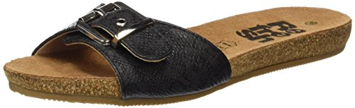 Refresh Women's 063294 Open Toe Sandals Black (Black Black ) EbH6UuNZa
