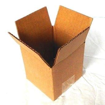 Amazon.com: Caja de cartón ligera de una sola pared 32 ECT 4 ...