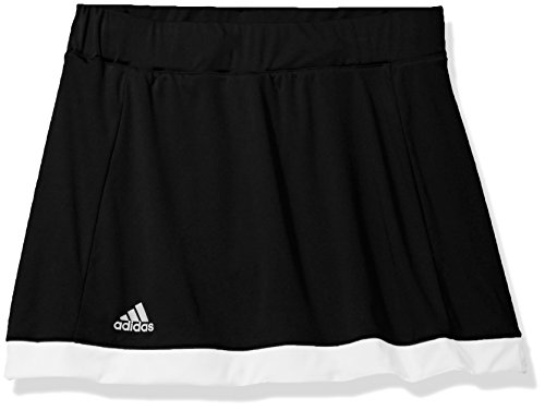adidas Girls Tennis Court Skort, Black, X-Small