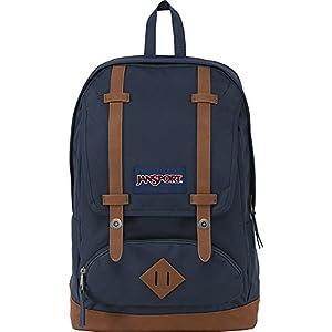 JanSport Cortlandt Backpack (Navy/Tan)