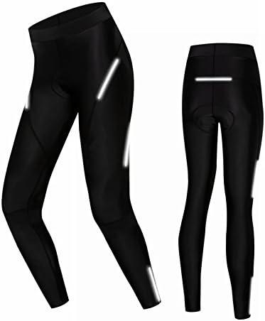 Cycling Shorts Women Cycling Bicycle Bike Pants 3D Coolmax Padded Tight