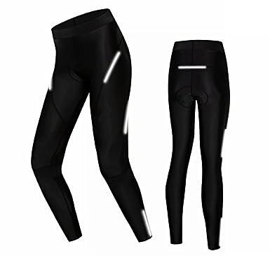 Weimomokey Cycling Shorts Women Cycling Bicycle Bike Pants 3D Coolmax Padded Tight