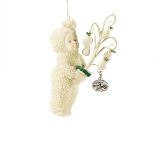 Department 56 Snowbabies Partridge in a Pair Tree Christmas Ornament