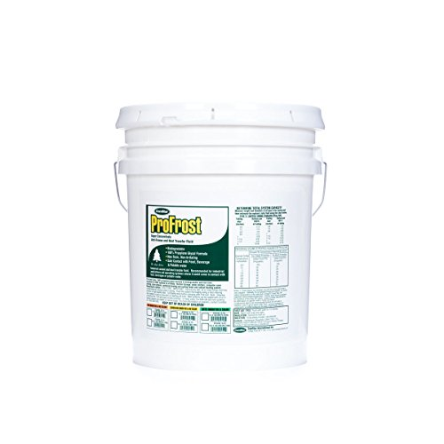 ComStar 35-723 ProFrost Chiller/Anti Freeze/Heat Transfer Fluid with Corrosion Inhibitor and Color, 100% Solution Ratio, 5 gal Pail, Fluorescent Green (Corrosion Coolant Anti)