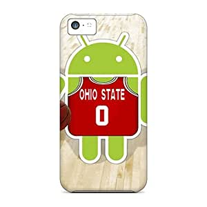 Anti-scratch And Shatterproof Ohio State Phone Case For Iphone 5c/ High Quality Tpu Case