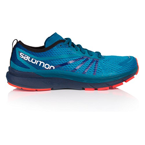 Salomon Men's Sonic Ra Pro Trail Running Shoes, Blue Blue