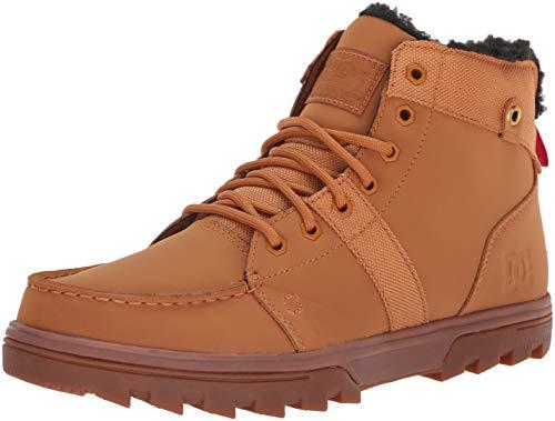 DC Men's Woodland Fashion Boot, Wheat/Black, 9 Medium US