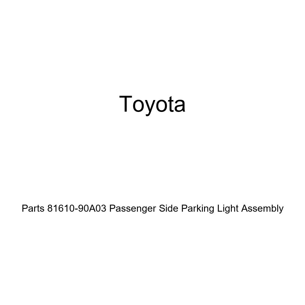 Genuine Toyota Parts 81610-90A03 Passenger Side Parking Light Assembly