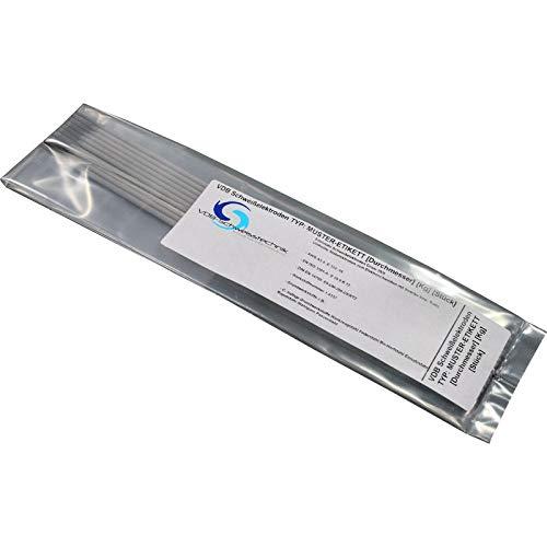 Electrodos de soldadura de acero inoxidable - 1.4430 - 316 ...