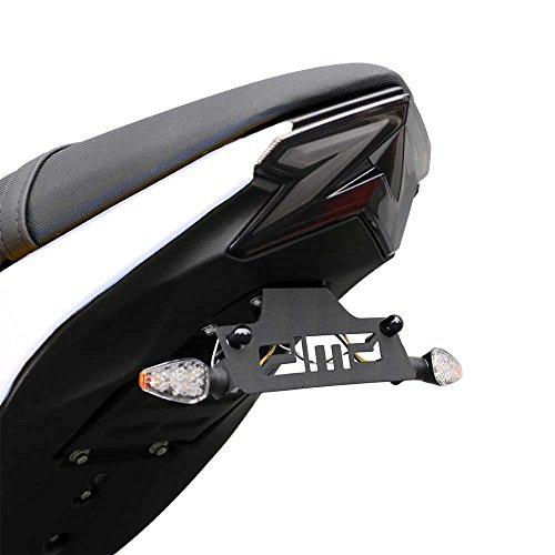 2017-2018 Kawasaki Z125 Pro Z 125 Fender Eliminator Kit; Includes Turn Signals and Plate Lights - 675-4100 - MADE IN THE USA