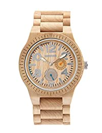 WeWood Kardo Beige Watch - Maple Wooden Watch