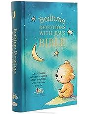ICB, Bedtime Devotions with Jesus Bible, Hardcover: International Children's Bible