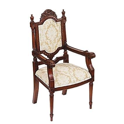 Amazon.com: Madison Collection Salon Des Rosiers Arm Chair ...