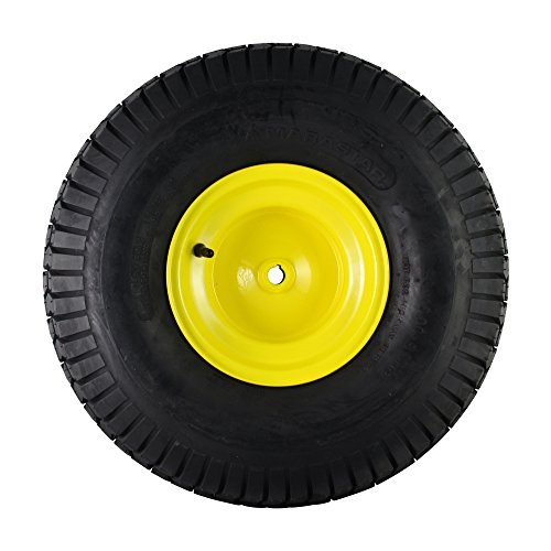MARASTAR 21423 20x10.00-8 Rear Tire Assembly Replacement for John Deere Riding Mowers