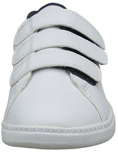 Coq Sportif Dress Le Courtone Enfant Basses PS Blanc White S Mixte Baskets Optical 6fFqwxHd