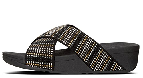 Slide 42 8uk Strobe Sandal Fitflop Black aqAnxUYx5
