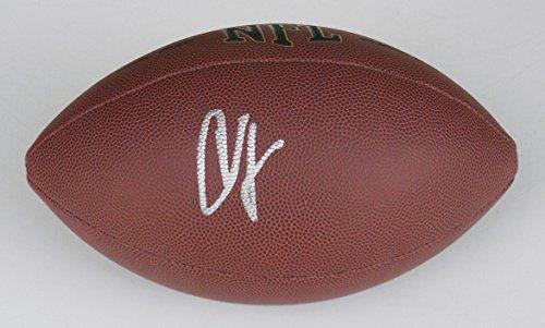 Chad Johnson Autographed Football - Chad Johnson Autographed Football (Bengals)
