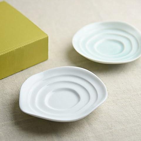 Miyama Minoyaki haas Small plate for Soy Sauce,Food etc... White