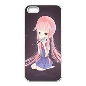 Mirai Nikki iPhone 5 5s Cell Phone Case White 91INA91414250