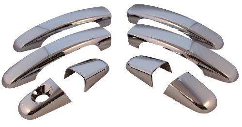 Car Kit Part Number - Set of 4 Chrome Plated Door Handle Covers. Includes Installation Kit - Part Number: CCIDH68523B