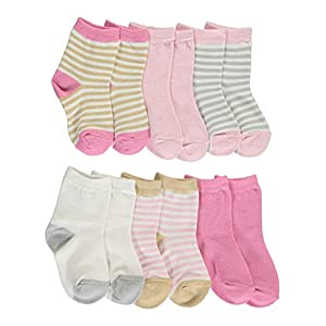 Touched by Nature Unisex Baby Organic Cotton Socks