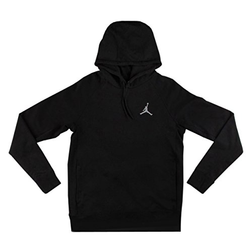 Jordan Flight Pullover Hoodie (XL, Black/White) by Jordan