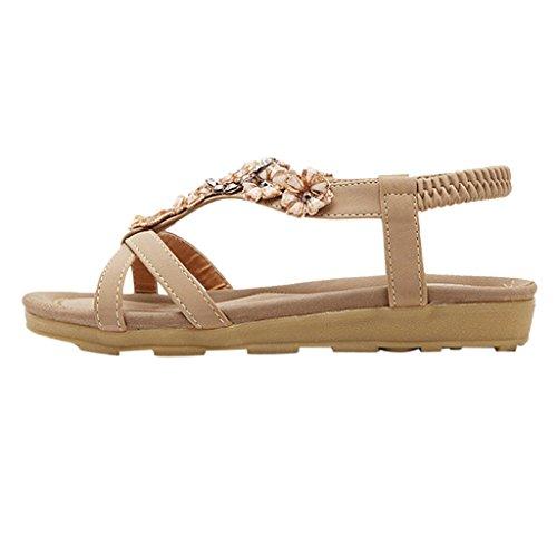 MRSMR - Zapatos con tacón mujer caqui