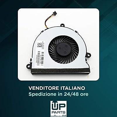 UP PARTS® UP-FNH15 Ventilador Ventilador Ventilador CPU HP 15-AC ...