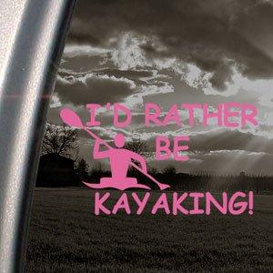 Rather Kayaking Decal Paddle Sticker