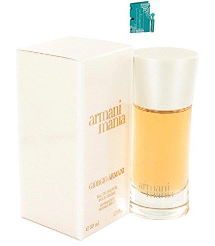 Giorgió Armáni Mániá Perfume For Women 1.7 oz Eau De Parfum Spray (New Version) Free! NL 0.06 oz