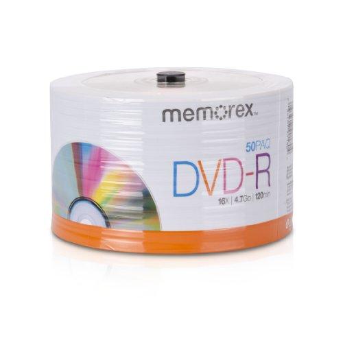 memorex-32020031749-dvd-r-16x-eco-spindle-base-discs-50-pack