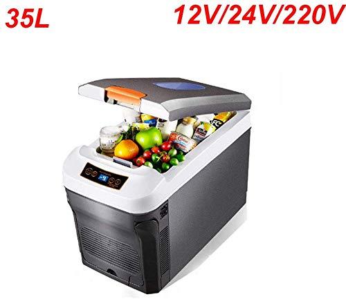 Dljyy Nevera 35L refrigerador del Coche de Gran Capacidad con ...