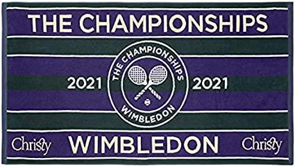 Wimbledon Christy 2021 on Court - Toalla de tenis para hombre