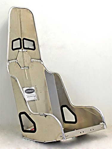 (Kirkey 55170 55 Series Aluminum Pro Street Drag Seat 17 Hip Width)