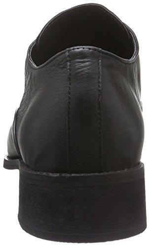 Black Lily Rida Shoes, Mocassini Donna Nero (Nero (Nero))