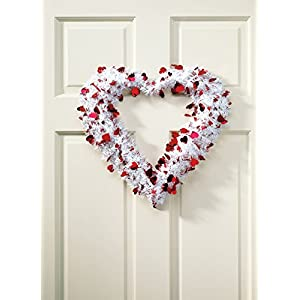 14in Red Heart Wreath 2